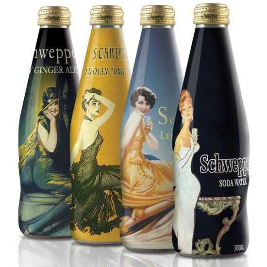 Repin worthy Schweppes #packaging design PD