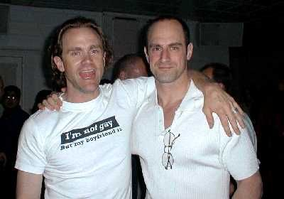 Lee Tergesen and Christopher Meloni as Tobias Beecher/Chris Keller, dysfunctional couple on Oz