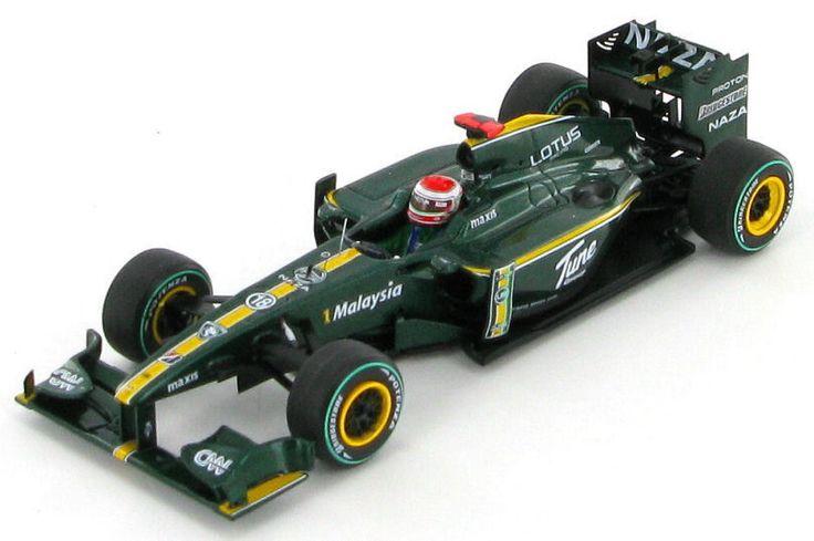 Lotus T127 Cosworth Jarno Trulli Monaco GP 2010 1:43