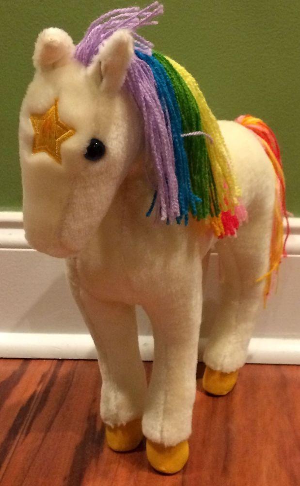 Hallmark Rainbow Brite Starlite Horse Stuffed Animal