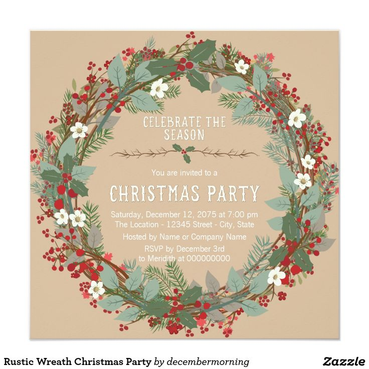 202 best Christmas Party Invitations images – Christmas Party Invites Ideas