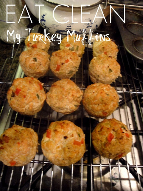 Turkey muffins....altered recipe a bit but WOW! Tastes so good and very low on macros!!!