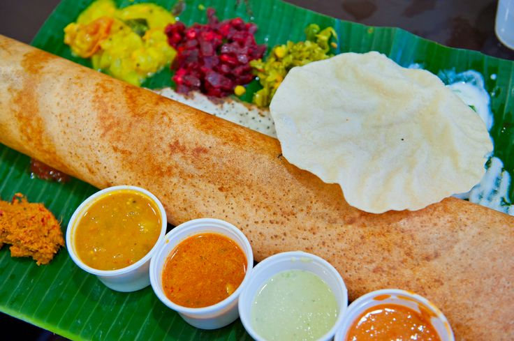 Vibrant flavours in Indian food add #ColourToLife