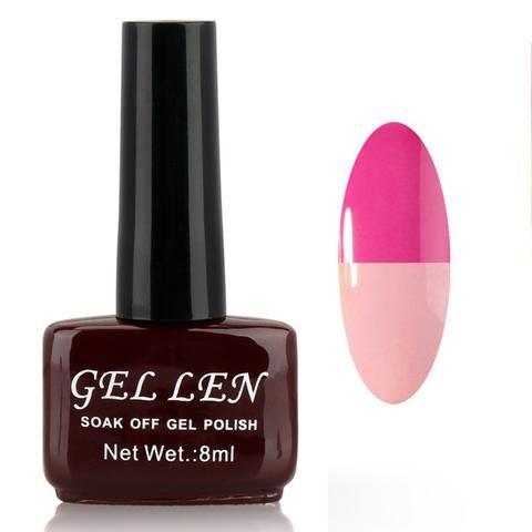 Gel Len Chameleon Temperature/Mood Color Changing UV LED Soak Off Gel Polish Halloween Witch nail polish