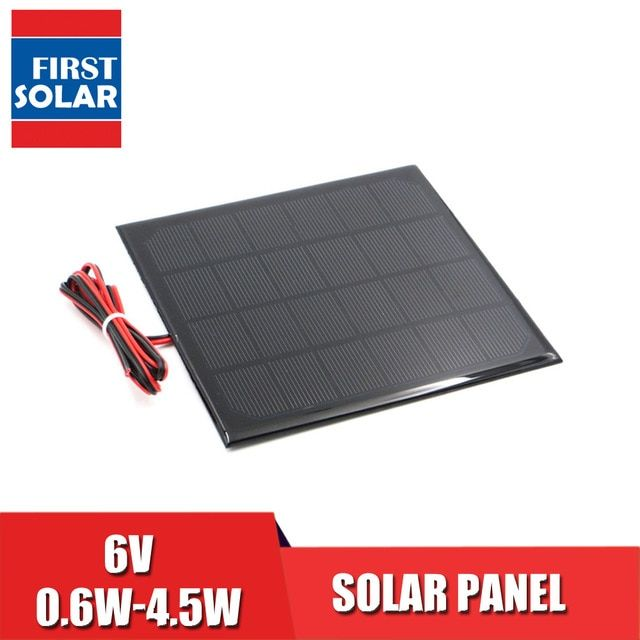 6v Solar Panel With 30 100 200cm Wire Mini Solar System Diy For Battery Cell Phone Charger 0 6w 1w 1 1w 2w 3w 3 5w 4 5w Solar Review Cell Phone Charger Phone Charger Solar Panels