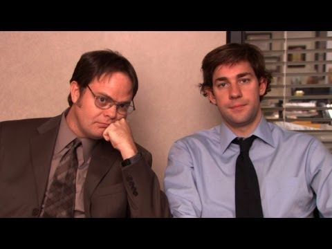 Jim and Dwight funniest pranks