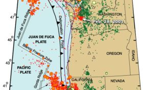 Intriguing Seismic Activity Along the Cascadia Subduction Zone - Scientific American Blog Network