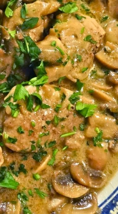 Pork Tenderloin With Dijon Marsala Sauce Recipe — Dishmaps
