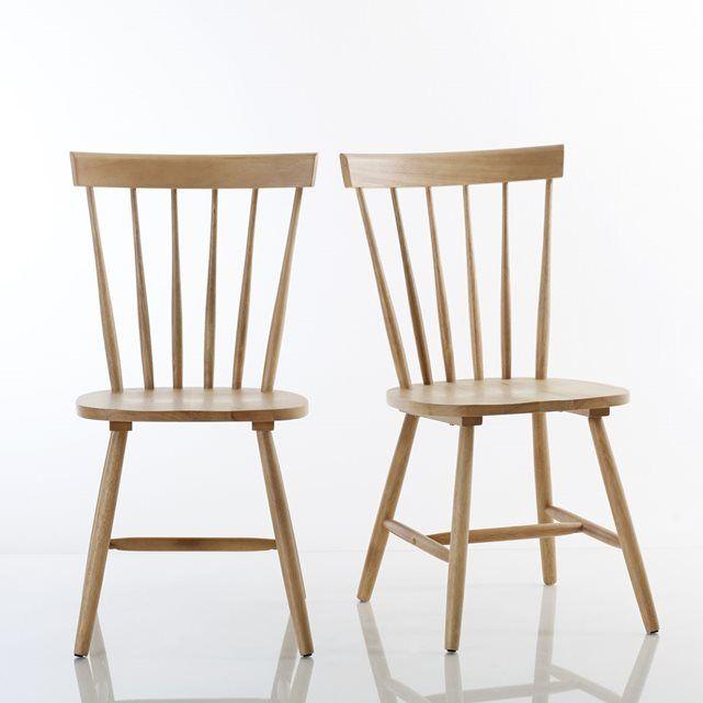 Les 25 meilleures id es de la cat gorie chaises windsor for La redoute chaises de salle a manger
