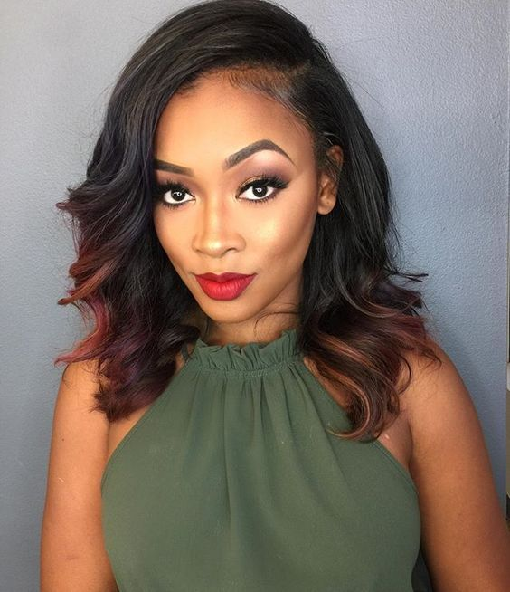 cool 35 Beautiful Sew In Hairstyles – Stay Bold and Experimental Check more at http://newaylook.com/best-sew-hairstyles-ideas/