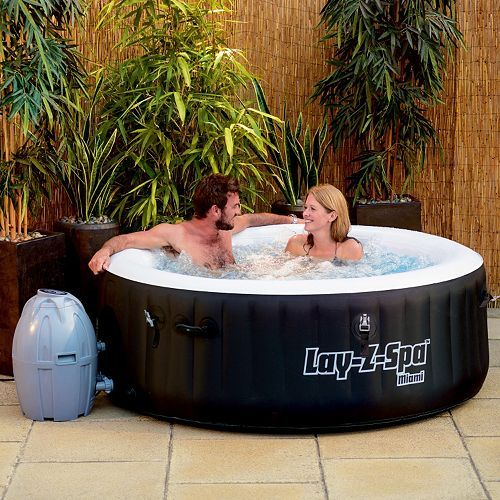 Bestway Inflatable Miami SaluSpa Spa Best inflatable hot