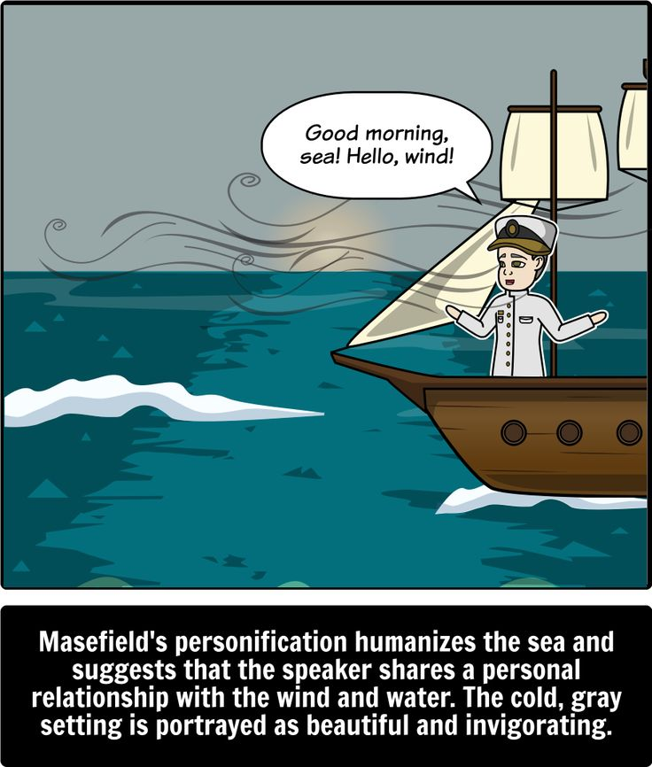 """sea fever paraphrase John masefield's """"sea fever"""": analysis john masefield's poem """"sea fever"""" is a work of art that brings beauty to the english language through its use of rhythm, imagery and many complex figures of speech."""