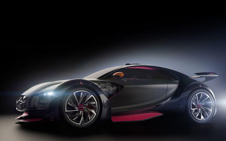 Citroensurvoltsupercar electric sports car car