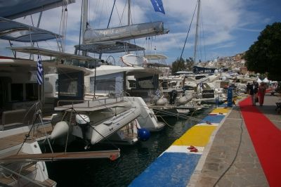 Kavas Yachting at East Med Yacht Show Poros 2014!