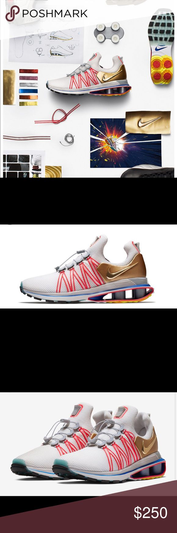 Nike shox Nike shox gravity 'metallic gold' DS with original everything  Very comfortable and