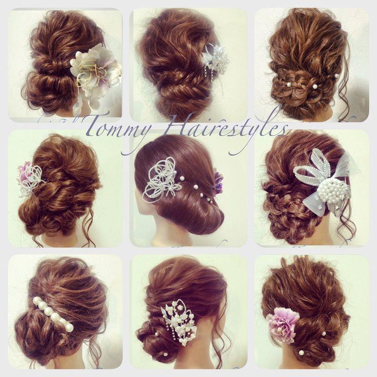 最近のまとめ♡ #hair #hairset #hairarrange #kimono #yukata #着物 #和服 #ヘアアレンジ #ヘアセット #結婚式 #wedding #nagoya #名古屋 #錦三