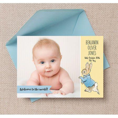design your own birth announcement