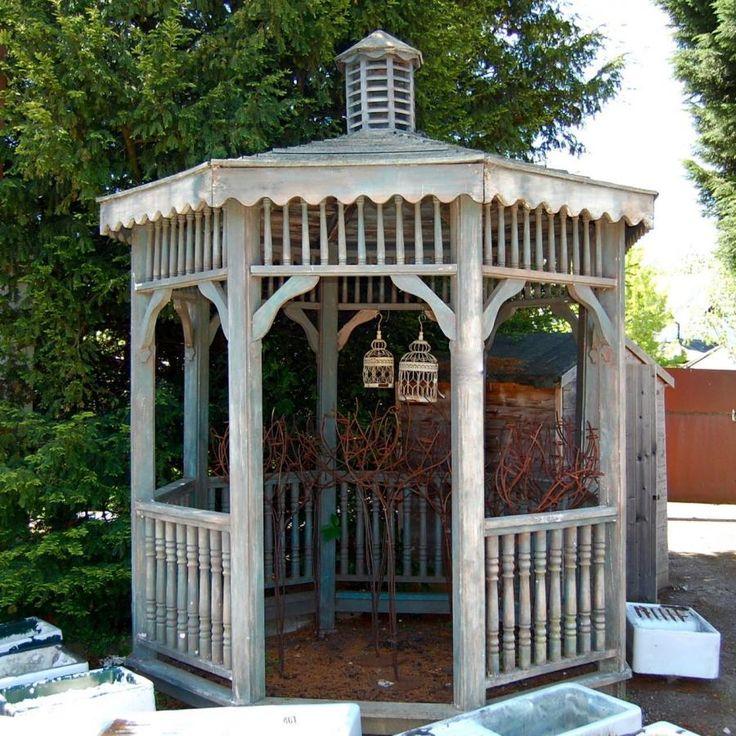 Reclaimed wooden gazebo for sale on SalvoWEB from V&V Reclamation in Hertfordshire [ Salvo code dealer  http://gazebokings.com/luxury-metal-framed-garden-party-gazebos/