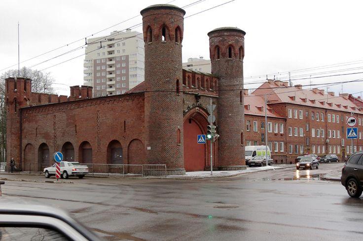 Калининград (Кёнигсберг). Часть 9: Внутреннее кольцо от башни Врангеля до конца Литовского вала: varandej