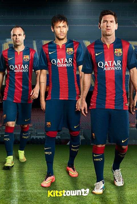 Barcellona Home Shirt 2014-15 stagione