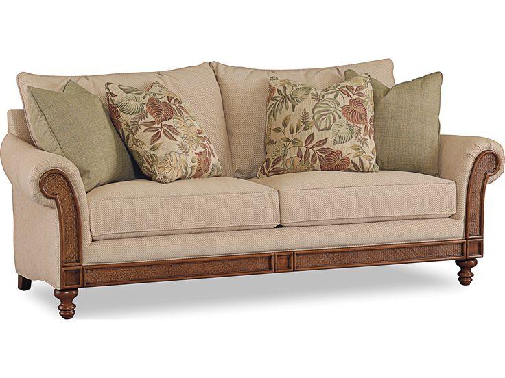 Hoooker Furniture Windward Dart Honey Sofa