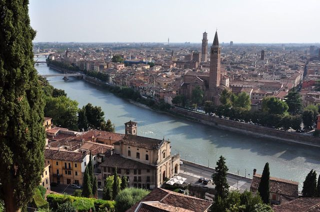 Verona - Italy : Verona isn't just where William Shakespeare set Romeo and Juliet—it's also a beautiful city that offers a lot to do and see! From ancient Roman ruins (including an incredibly well-preserved arena) to a medieval castle, from stunning piazzas to historic churches, Verona is bursting with sightseeing opportunities. And, oh yes, it's one of the most beautiful cities in Italy    For our Europe tour ;)