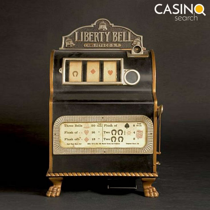 The first slot machine from 1895 was a very simple mechanical machine 🔩⚙🎰 Today's vending machines consist of an average of 1200 separate parts and weigh an average of 120 kilograms ⚖ http://www.slotgamesonline.eu/