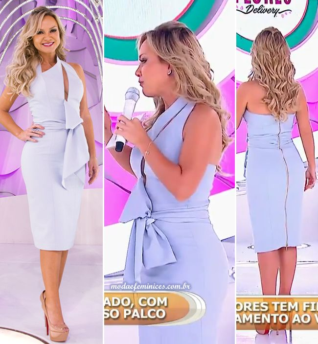 look-vestido-azul-candy-colors-eliana-programa-domingo-161016-outubro