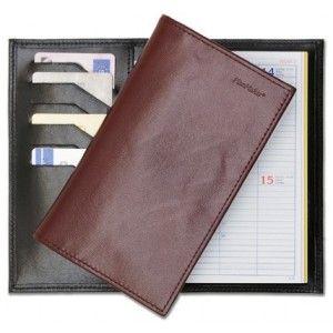 PlanMaker Pocket Komplett Plånboksmodell, Kalvskinn