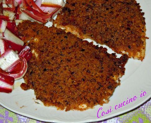 filetti di orata in crosta croccante