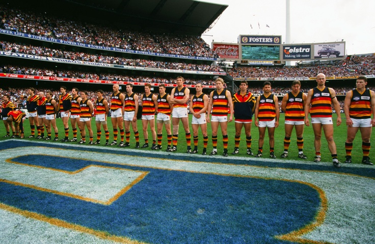 All set for the 1997 grand final.