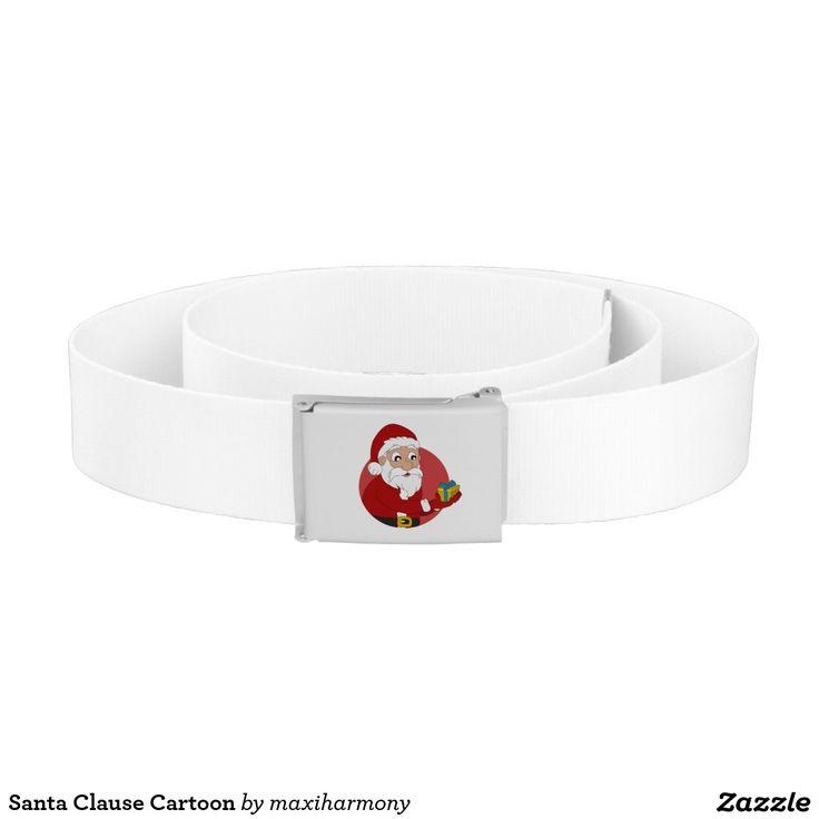 Santa Clause Cartoon Belt