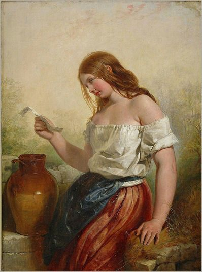 Henry Courtney Selous - The Love Letter