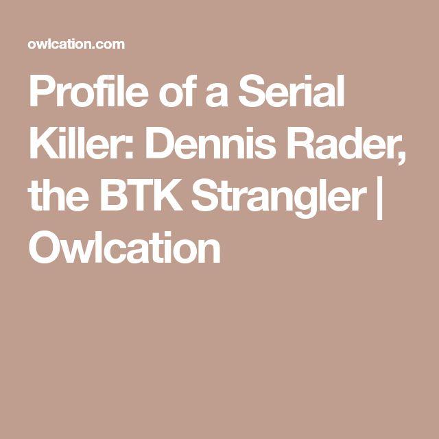 Profile of a Serial Killer: Dennis Rader, the BTK Strangler | Owlcation