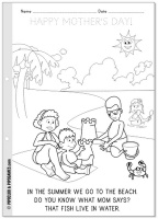 """""""HAPPY MOTHER'S DAY!"""" coloring page freebie #coloring #preschool"""