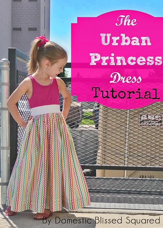 DIY Clothes DIY Urban Princess Dress from Domestic Bliss Squared DIY Sleepwear