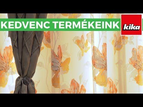 Kedvenc termékeink - Függönyök | Kika Magyarország - YouTube