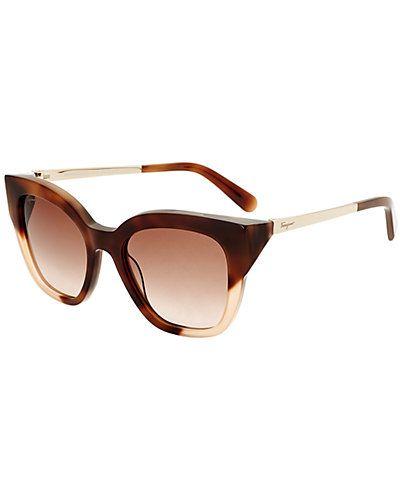 d41b09fc24f Rue La La — Salvatore Ferragamo Women s SF856S 53mm Sunglasses ...