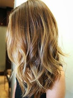 cheveux caramel clair meche blonde recherche google - Coloration Blond Clair Caramel