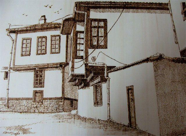 Resim Kenan EROĞLU Eski Altındağ Evleri