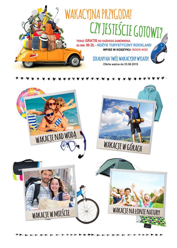 Wakacje z pomysłem/Idea holiday #holiday #wakacje #newsletter #design #graphicdesign