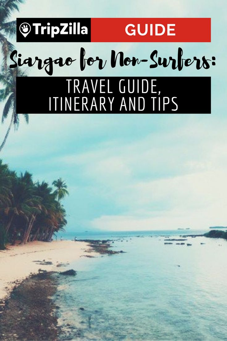 Siargao is not limited to surfing alone. For less adventurous and sporty people like me, the group of islands has a lot more to offer other than riding the waves. Here is a detailed itinerary and guide for first-timers.