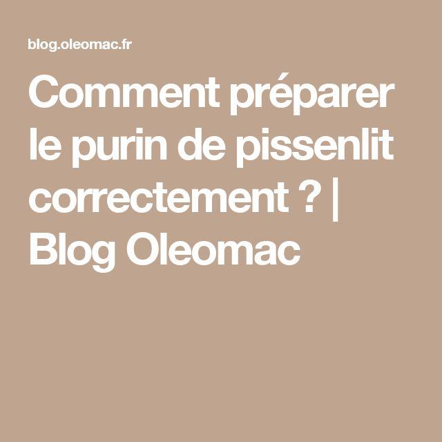 Comment préparer le purin de pissenlit correctement ?   Blog Oleomac