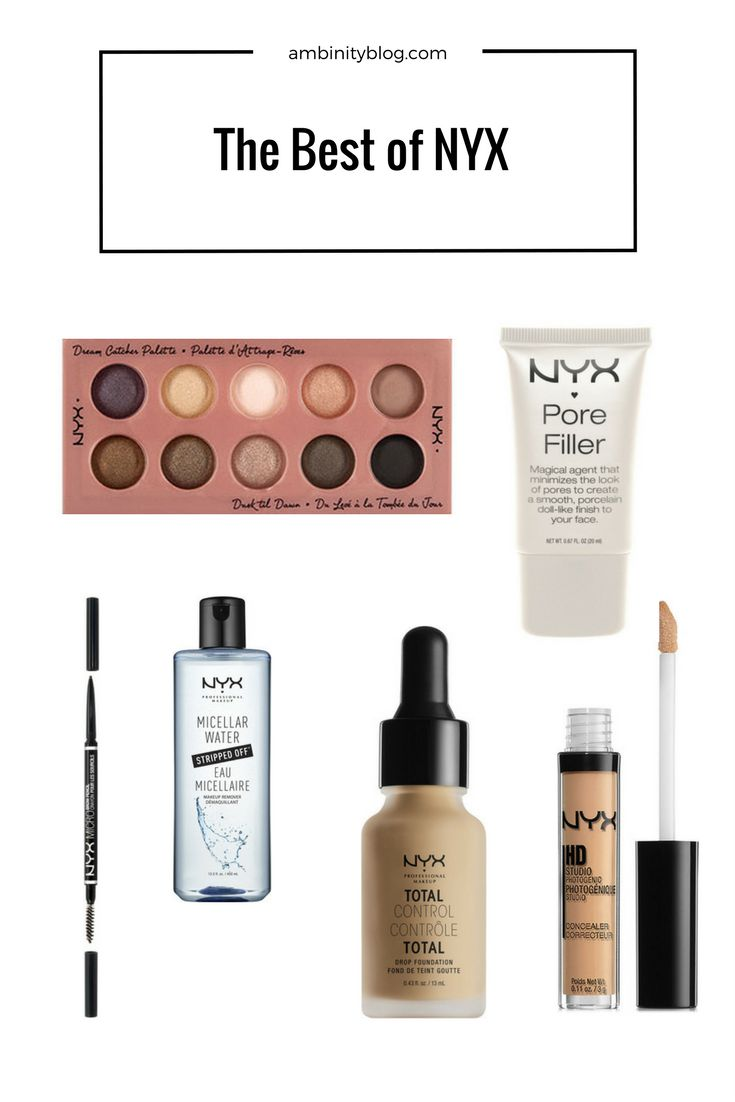 best nyx cosmetics beauty products