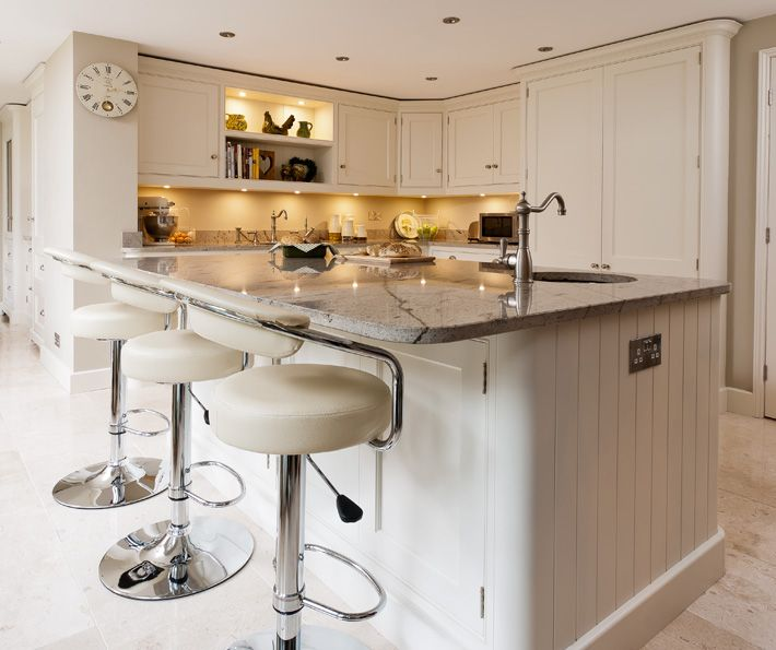 Traditional White Kitchen - Timeless Painted Design - Tom Howley