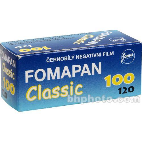Foma Fomapan Classic 100 120 - $4.29