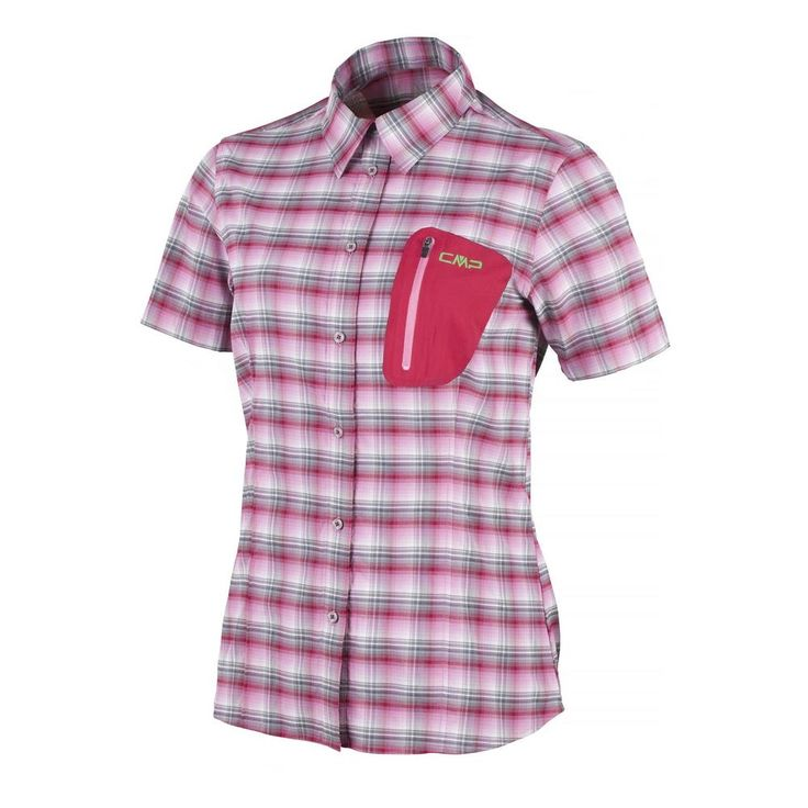 WOMAN STRETCH SHIRT, Abbigliamento sportivo uomo CMP Campagnolo