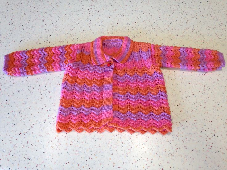 Old Patons pattern created for little Abbie.