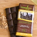 "Endangered Species Chocolate - All-Natural Dark Chocolate with Hazelnut Toffee - ""We donate 10% of net profits to charitable organizations supporting  species and habitat conservation efforts in harmony with humanity"""