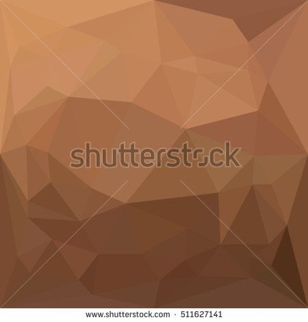Low polygon style illustration of a burlywood goldenrod abstract geometric background. #abstractbackground #lowpolygon #illustration